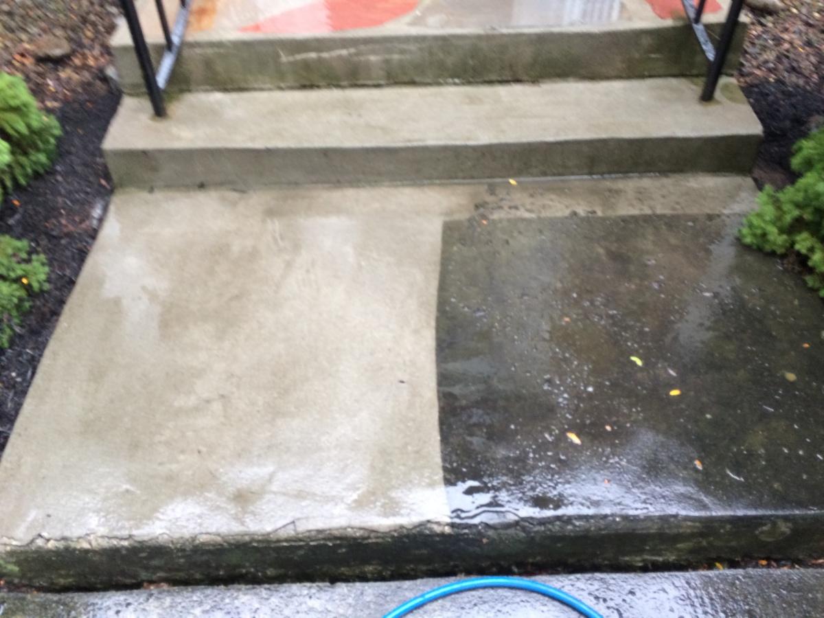 how to clean concrete pavers australia